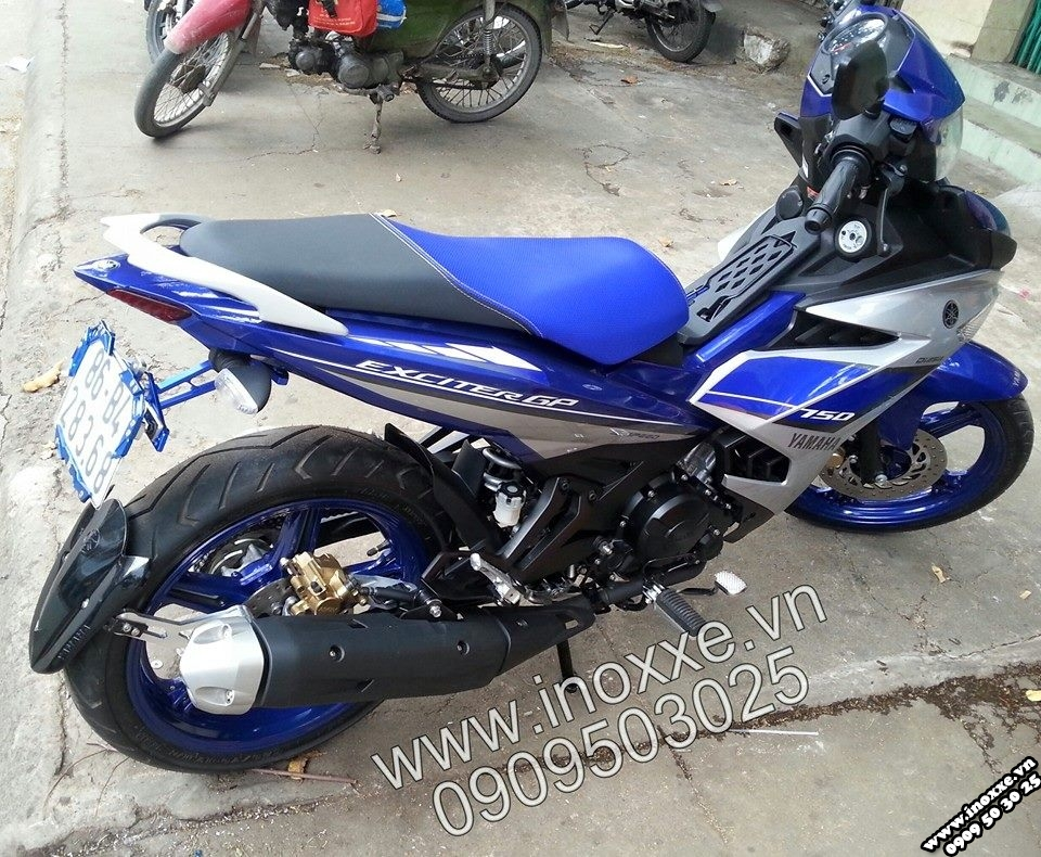 Exciter 150 GP do do choi dep