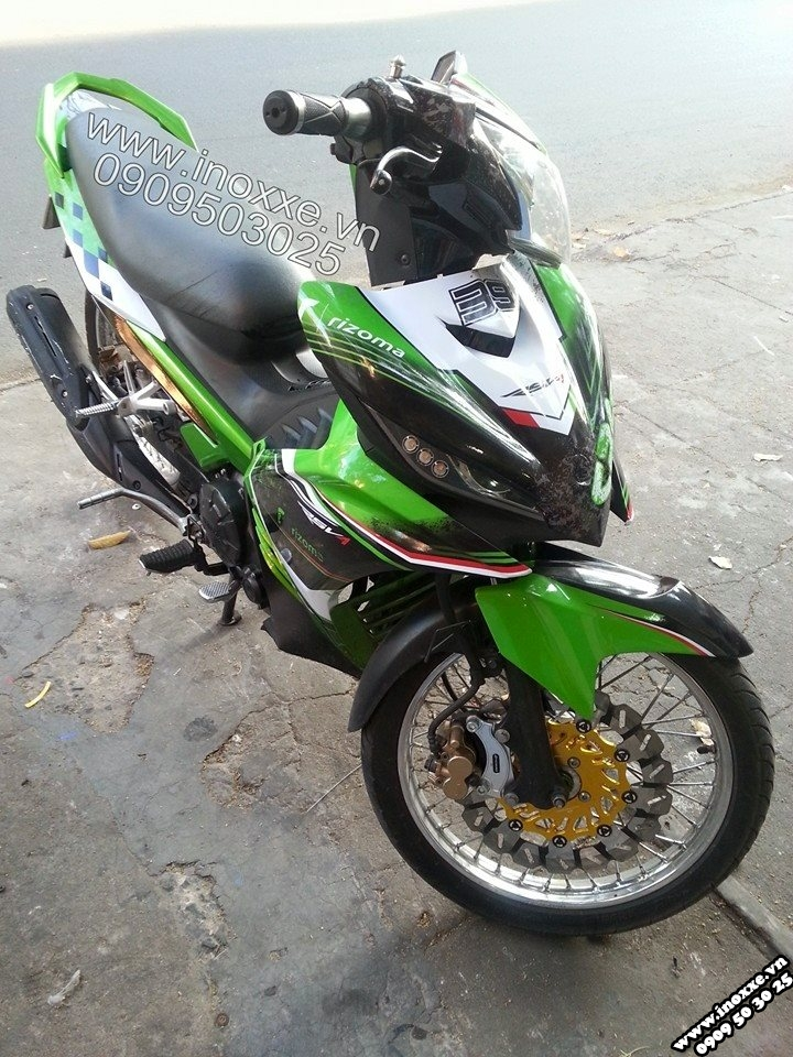 Exciter CRG phong cach the thao - 3