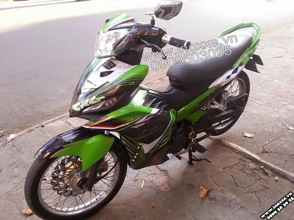 Exciter CRG phong cach the thao - 4