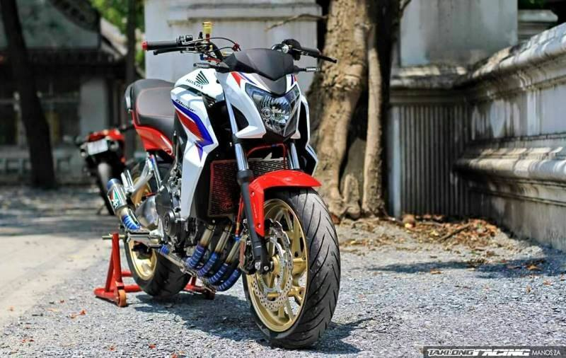 Honda CB650F do sieu chat voi dan do choi hang hieu - 2