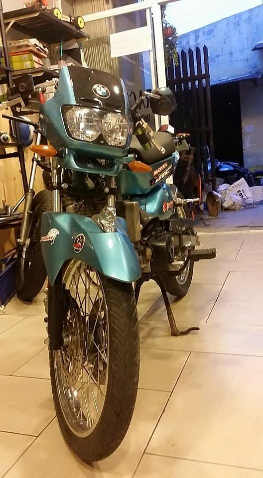 Honda Cub do cuc chat