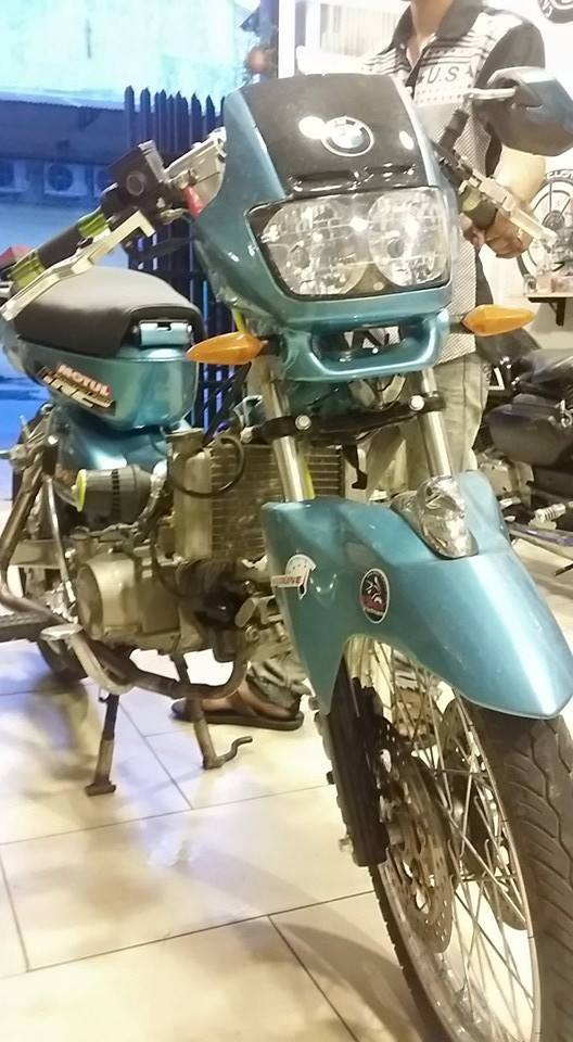 Honda Cub do cuc chat - 2