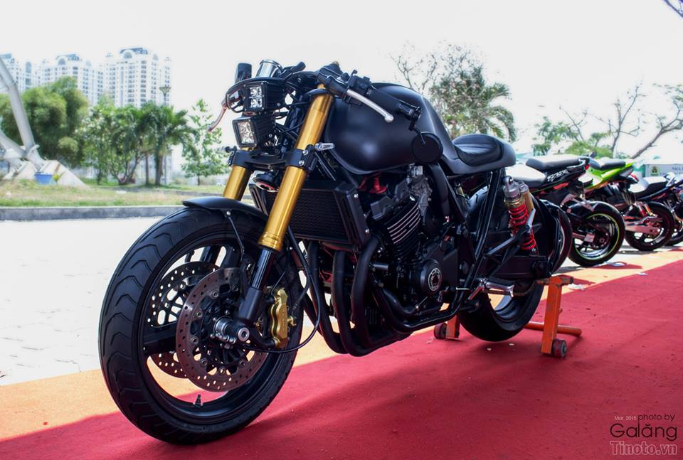 Honda Hornet do Cafe Racer cuc chat - 2