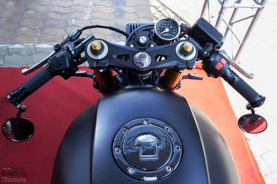 Honda Hornet do Cafe Racer cuc chat - 5