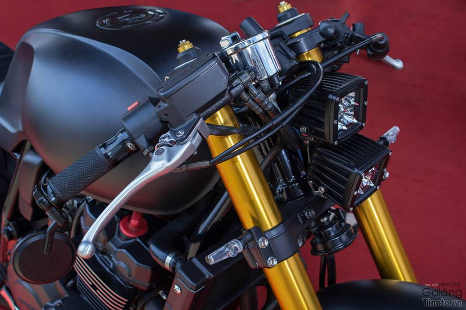 Honda Hornet do Cafe Racer cuc chat - 10