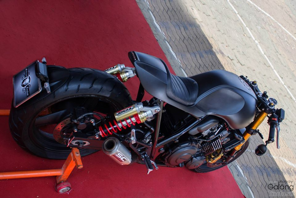 Honda Hornet do Cafe Racer cuc chat - 12