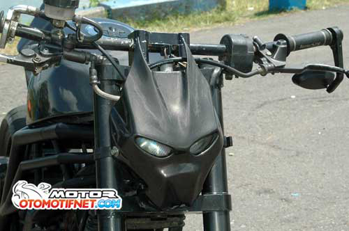 Raider 150 do phong cach Streetfighter - 5