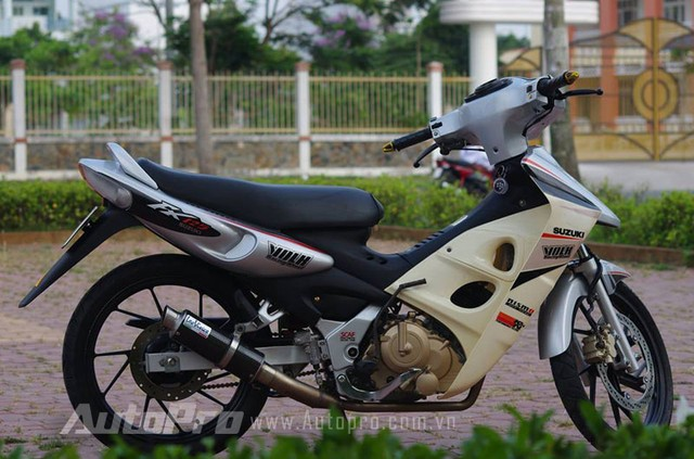Suzuki FX len may Raider cung nhung mon do choi cuc chat - 4