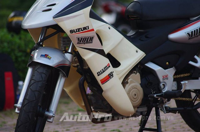 Suzuki FX len may Raider cung nhung mon do choi cuc chat - 8
