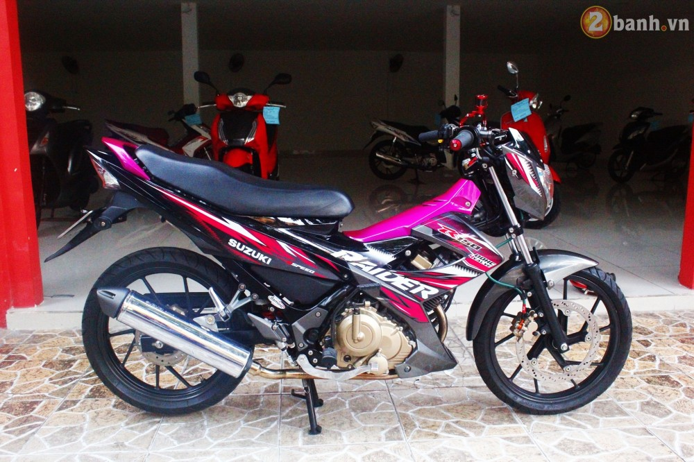 Suzuki Raider son mau hong noi bat - 2