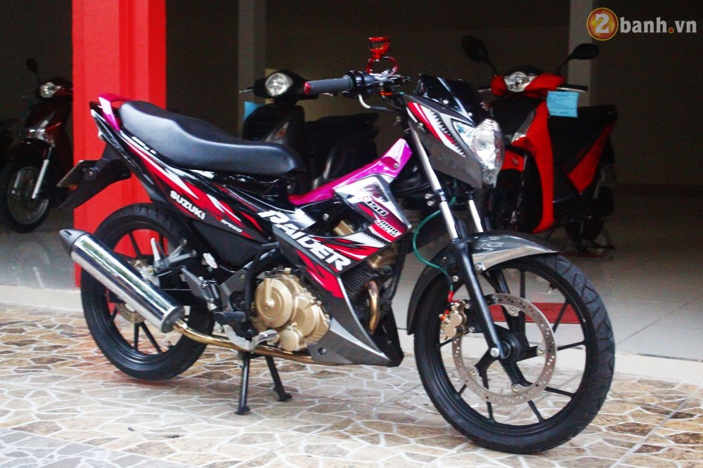 Suzuki Raider son mau hong noi bat - 3