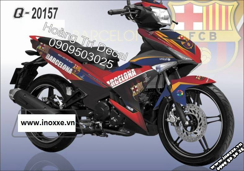 Tem xe Exciter 2015 phong cach
