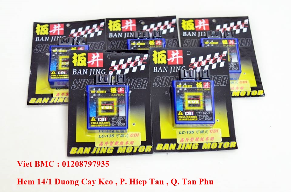Viet BMC CDI Racing Do Choi UMA RacingBoy Mobin IC Do YCS Do Kieng - 12