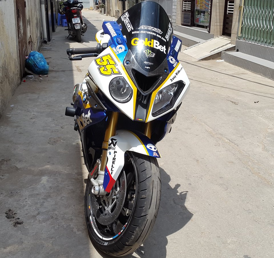 BMW S1000RR do full do choi khung tai Sai Gon - 2