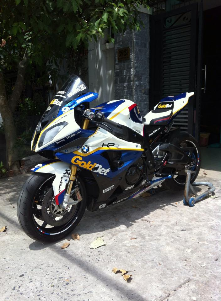 BMW S1000RR do full do choi khung tai Sai Gon - 13