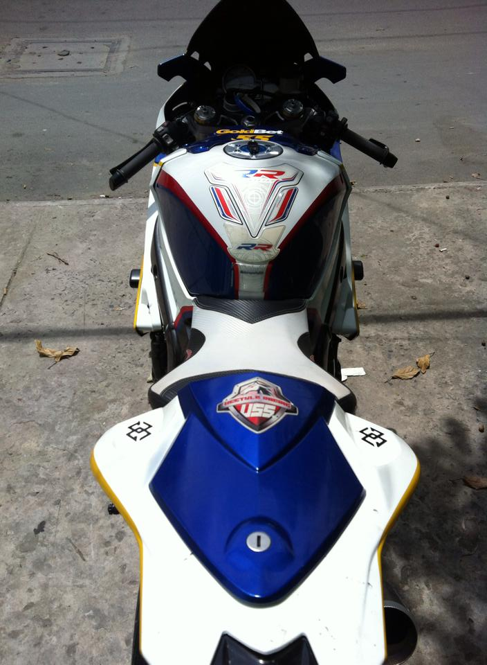 BMW S1000RR do full do choi khung tai Sai Gon - 11