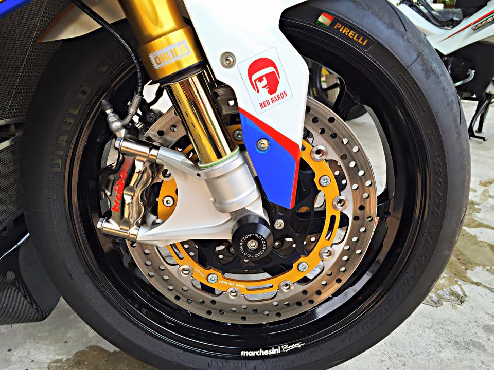 BMW S1000RR GoldBet do cuc dinh tai Thai - 6