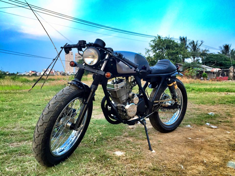 Daelim 125 do Cafe Racer - 6