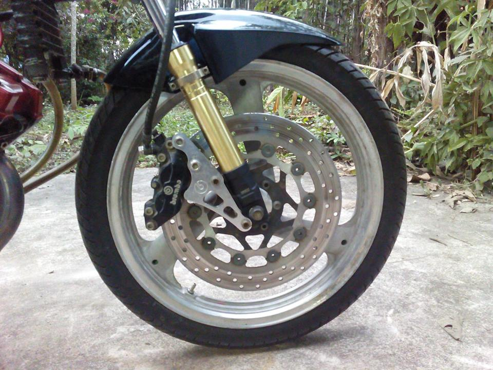 Do raider 125cc ham ho tren tung cay so - 2