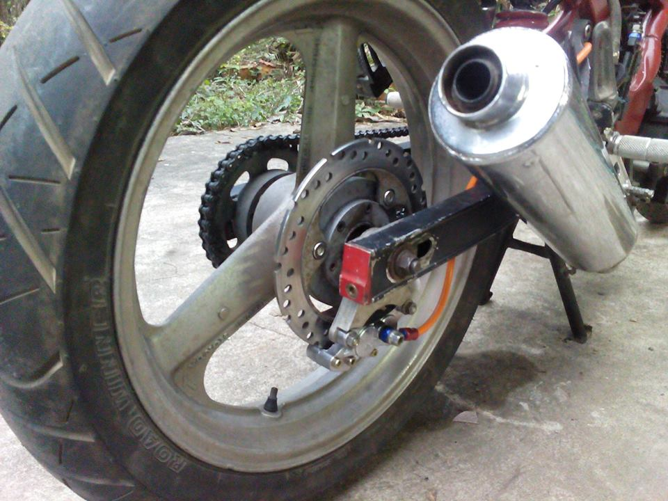Do raider 125cc ham ho tren tung cay so - 3