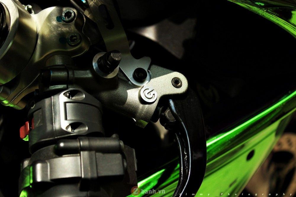 Ducati 899 Panigale ban do mau Chrome cuc an tuong - 11