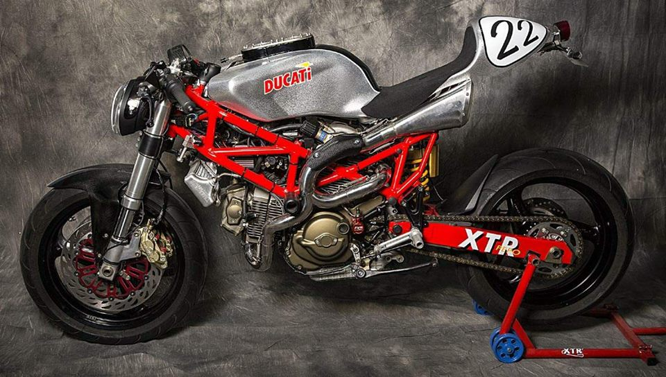 Ducati Monster 795 do Cafe Racer day phong cach - 6