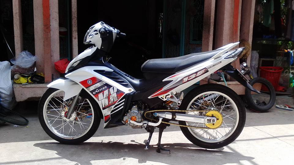 Exciter 135 do full kieng cuc phong cach - 2
