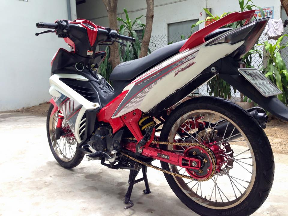 Exciter 135 do kieng full do choi noi bat - 2