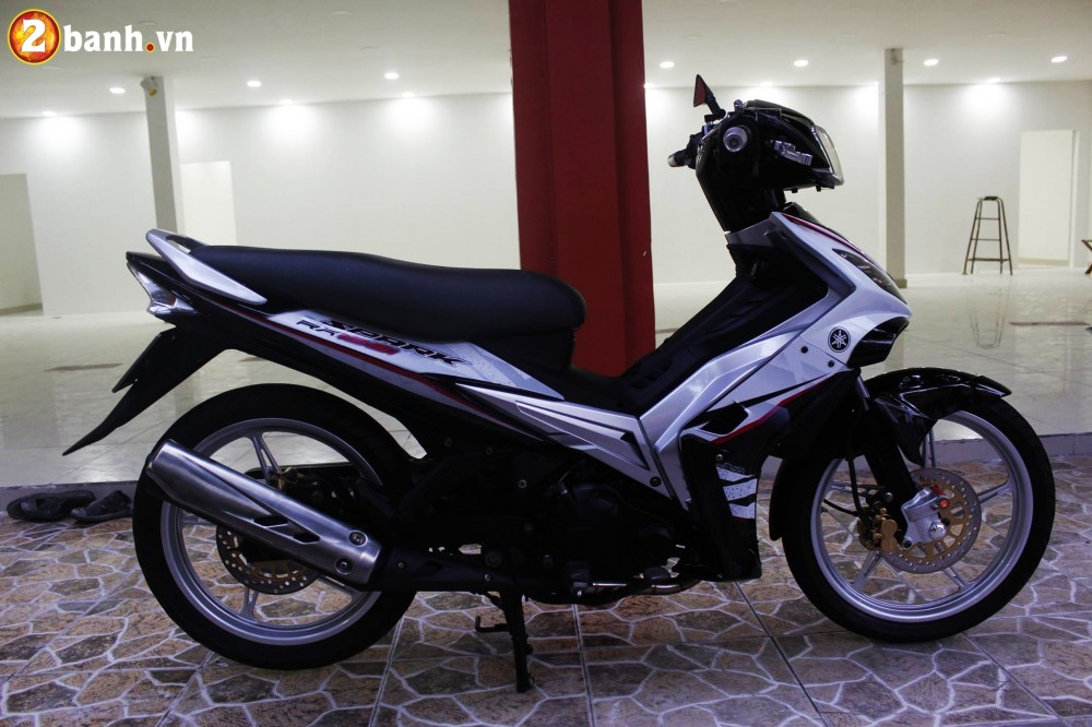Exciter 135 don theo phong cach Spark 135i