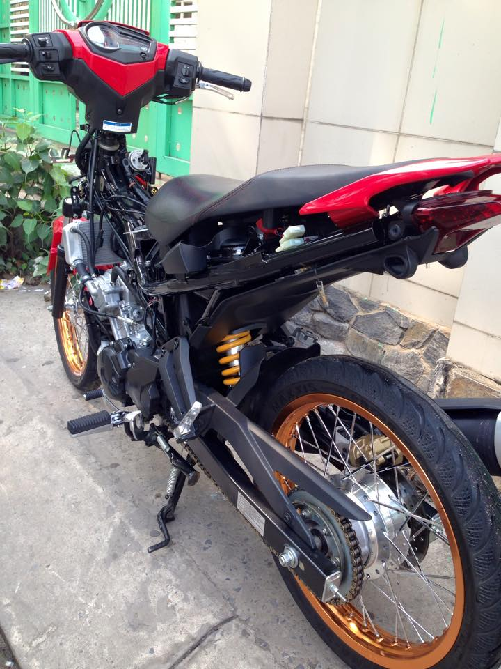Exciter 150 Do len banh cam nhe nhang - 3