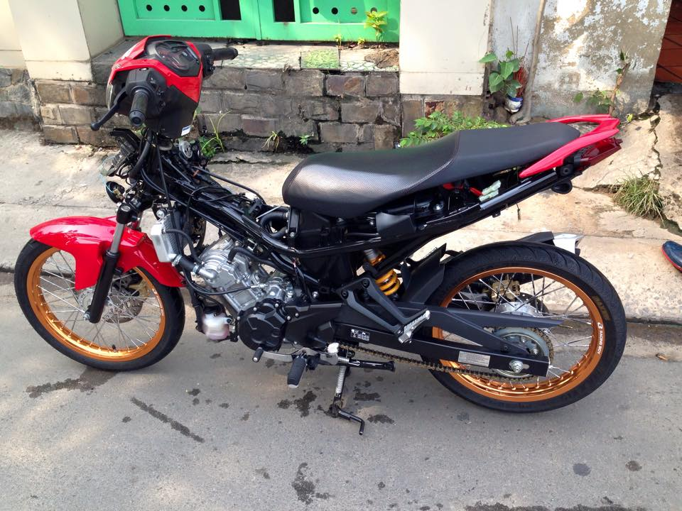 Exciter 150 Do len banh cam nhe nhang - 6