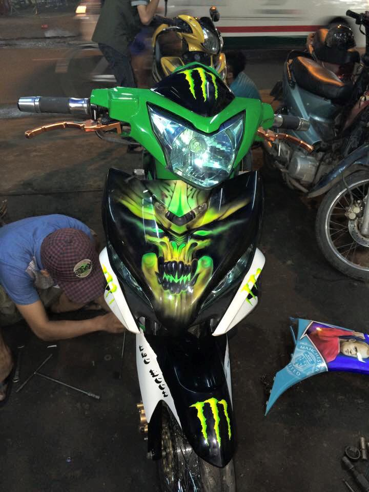 Exciter do dung chat phong cach Monster - 2