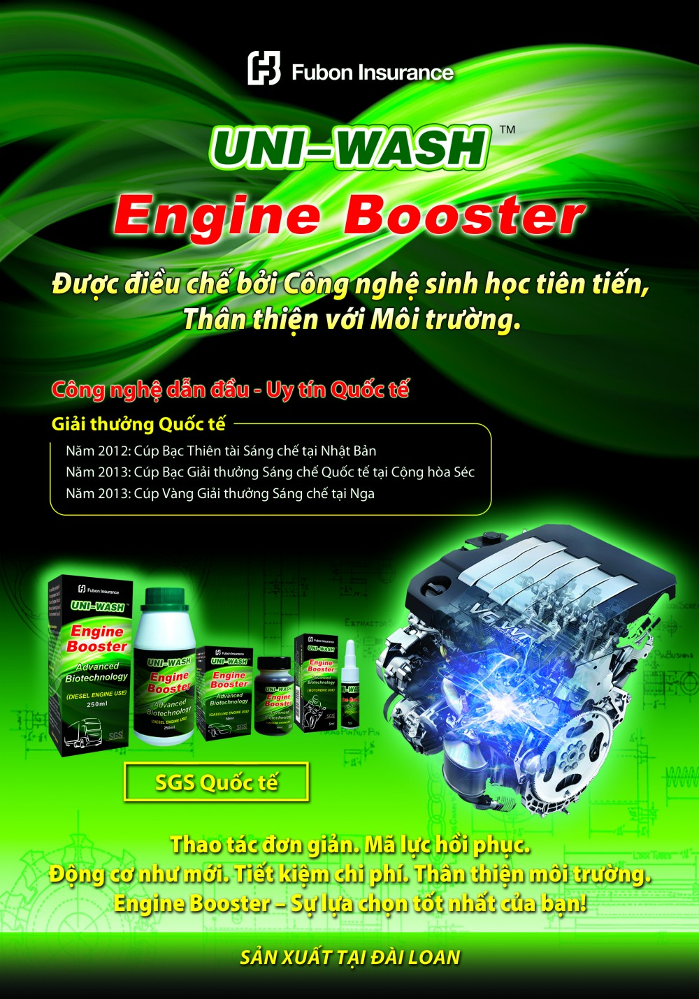 HOAT CHAT KICH HOAT DONG CO ENGINE BOOSTER VOI CONG NGHE ION MOI NHAT