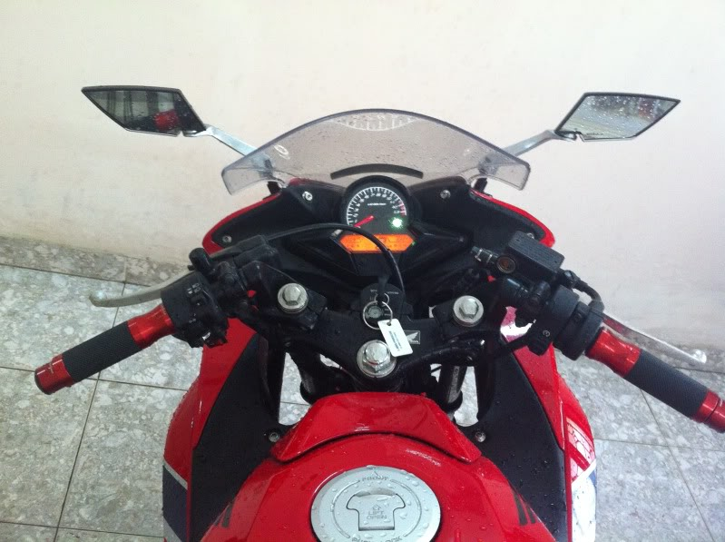 Honda CBR150 do don gian voi 1 gap NSR - 3