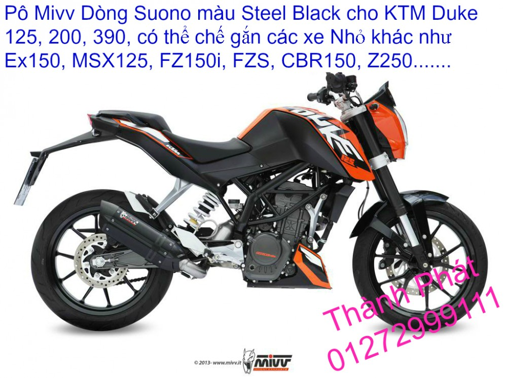 Do choi KTM Duke 125 200 390 tu A Z Gia tot Up 522015 - 41