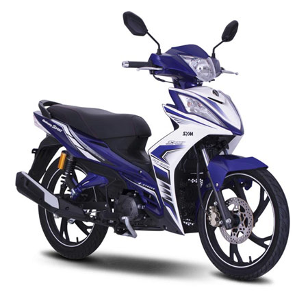 SYM gia nhap cuoc dua thi truong con tay voi dong Galaxy Sport