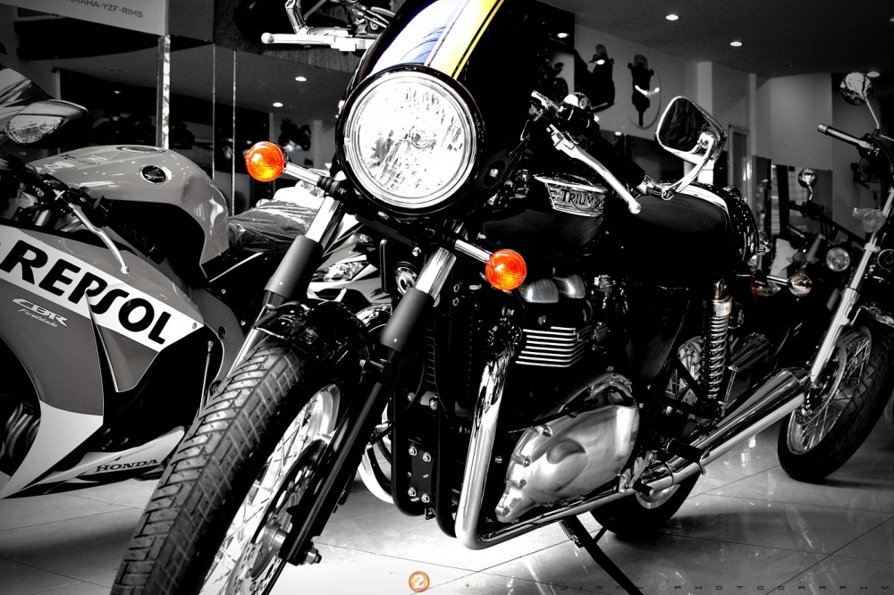 Triumph T100 2015 Chiec Cafe Racer chinh hang