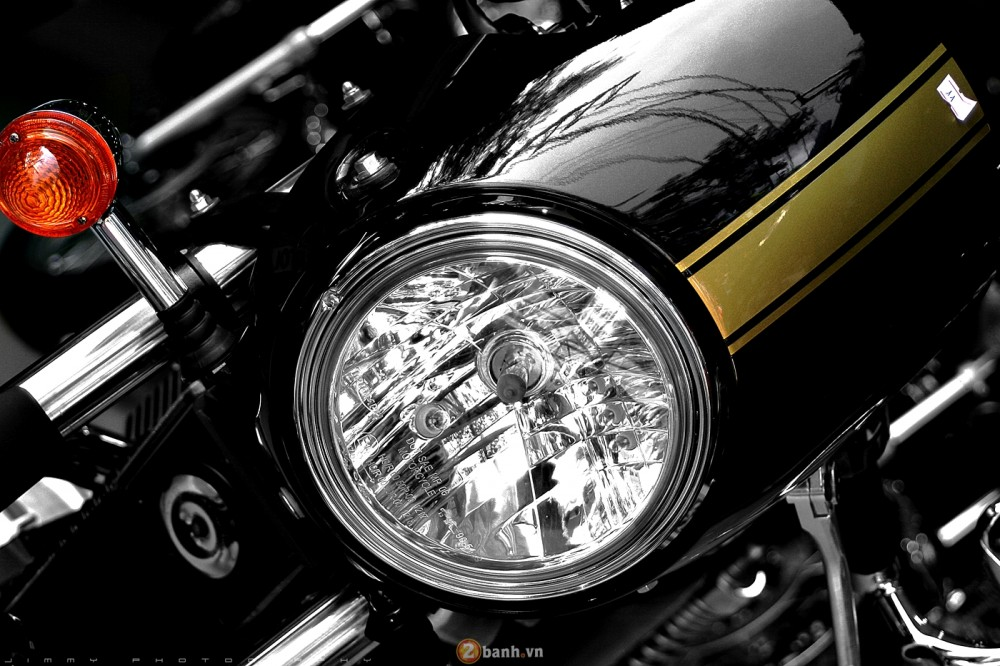 Triumph T100 2015 Chiec Cafe Racer chinh hang - 3