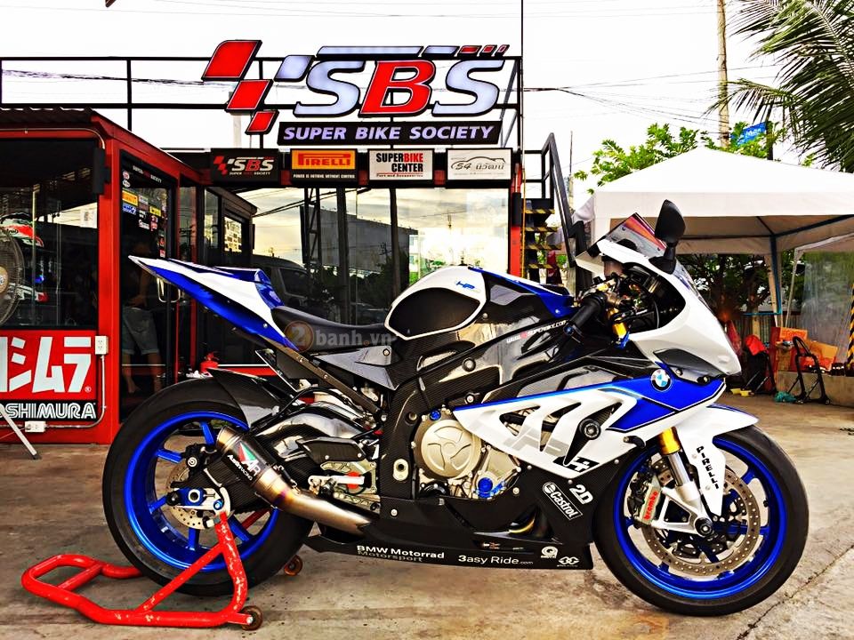 BMW HP4 do cuc dinh voi nhung option hang hieu tai Thai - 12