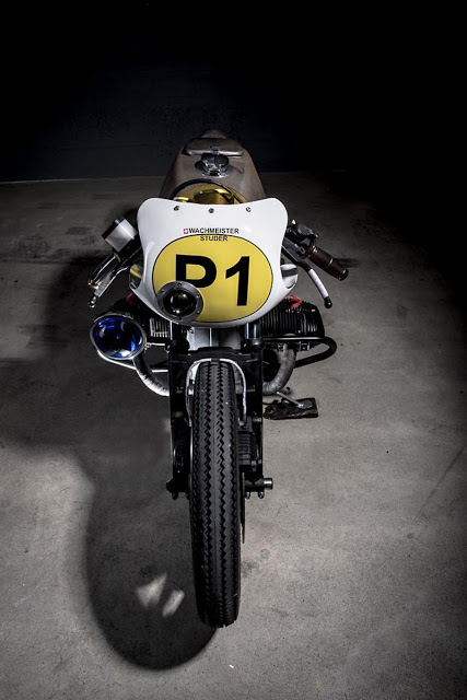 BMW RT 80 sieu chat voi phien ban Cafe racer danh cho canh sat - 2