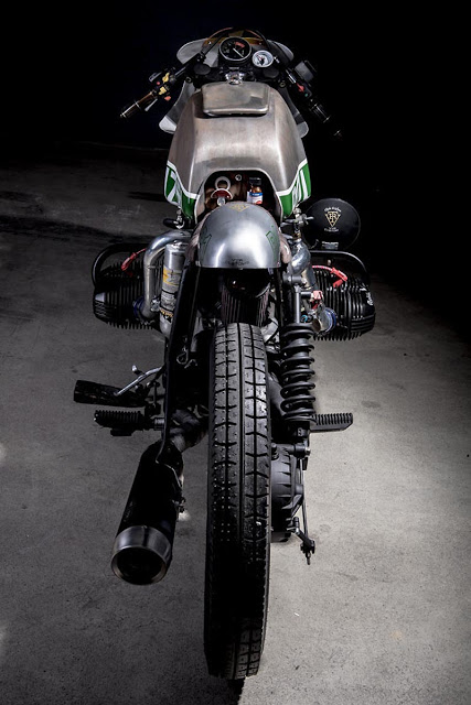 BMW RT 80 sieu chat voi phien ban Cafe racer danh cho canh sat - 6