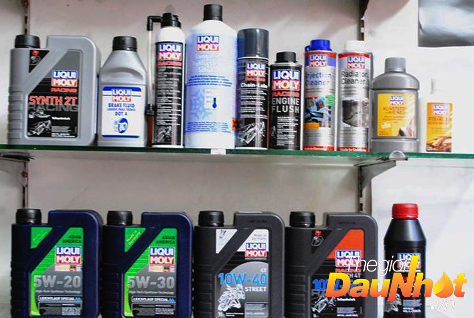 Cac san pham cham soc xe may cua Liqui Moly Made in Germany