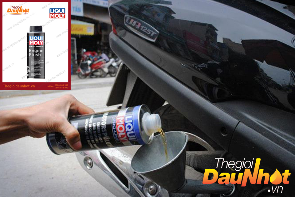 Cac san pham cham soc xe may cua Liqui Moly Made in Germany - 7