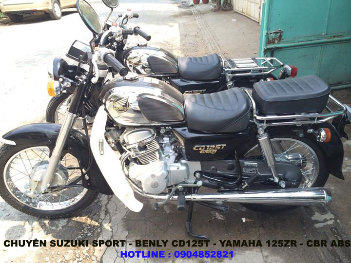Chuyen SportBENLY CD125T125zr - 5