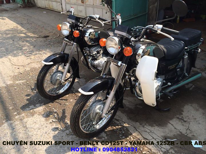 Chuyen SportBENLY CD125T125zr - 6