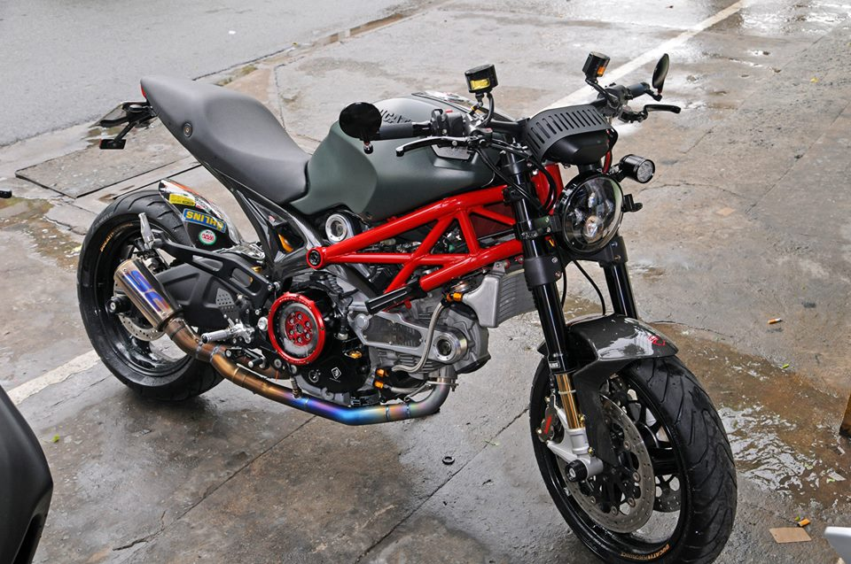 Ducati Monster 795 do sieu ngau tai Sai Gon
