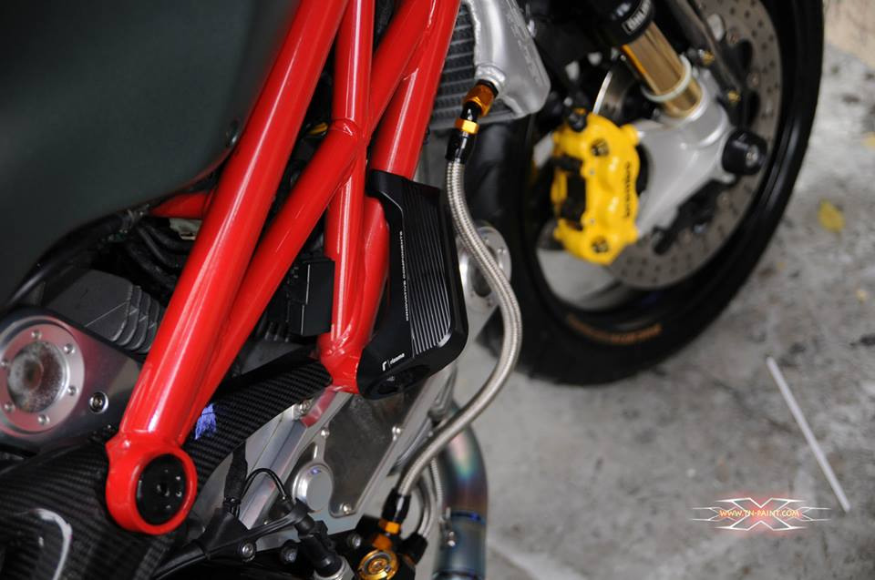 Ducati Monster 795 do sieu ngau tai Sai Gon - 9
