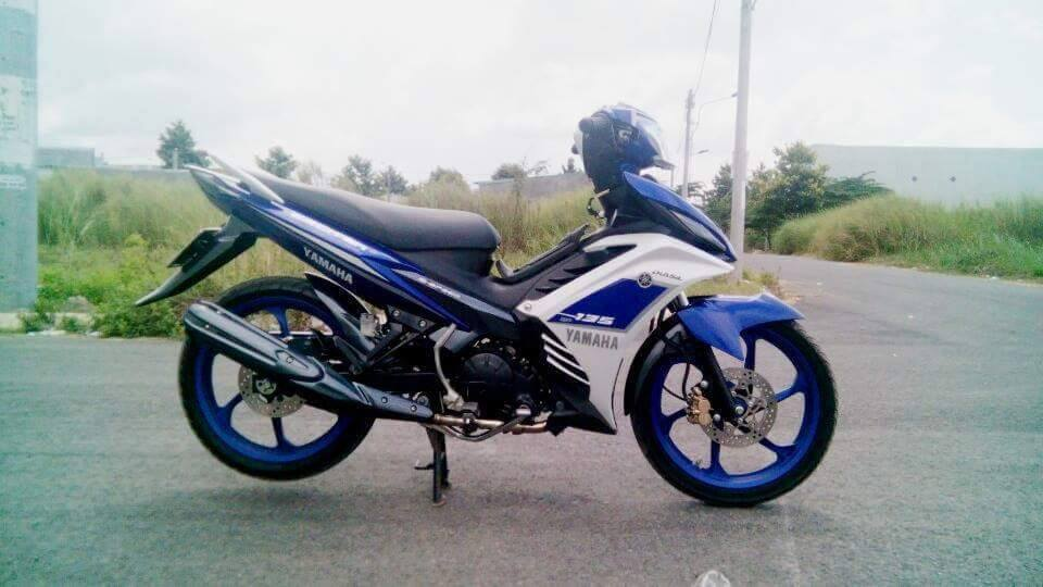 Exciter 135 do phong cach GP 2015