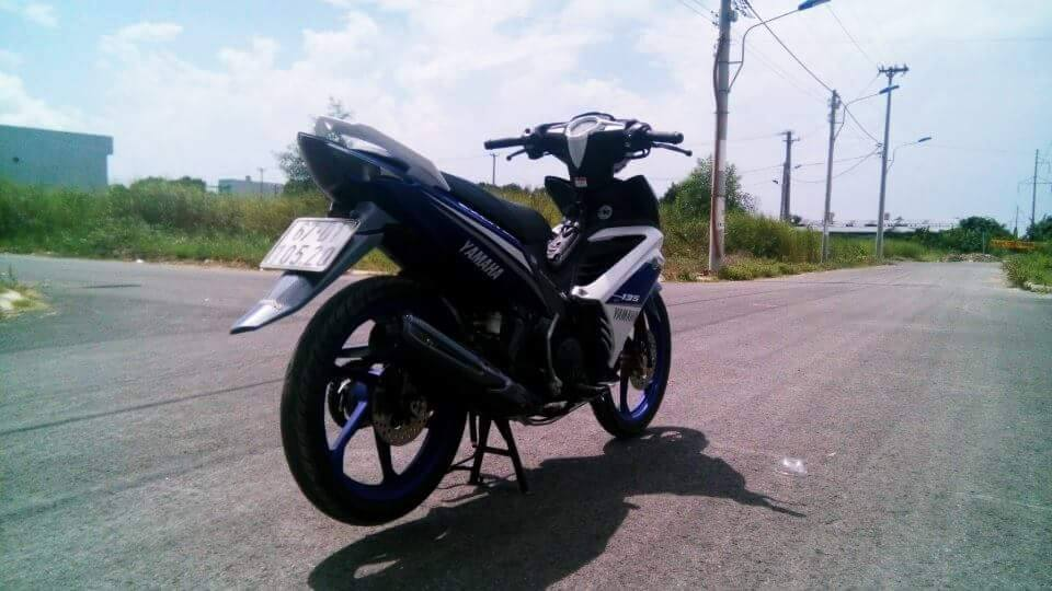 Exciter 135 do phong cach GP 2015 - 3