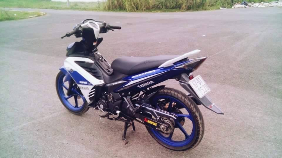 Exciter 135 do phong cach GP 2015 - 4